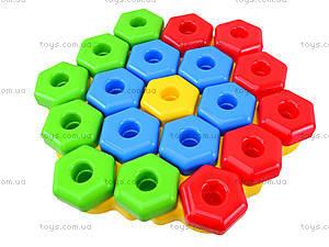 Развивающая игрушка для детей «Снежинка», 39182, детские игрушки
