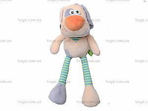 Плюшевая игрушка «Собачка Гавчик», К421В, фото