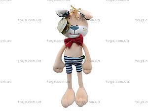 Мягкая игрушка «Собачка Жюль», К412А, фото