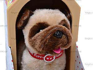 Собака игрушечная с будкой, 9118C, цена