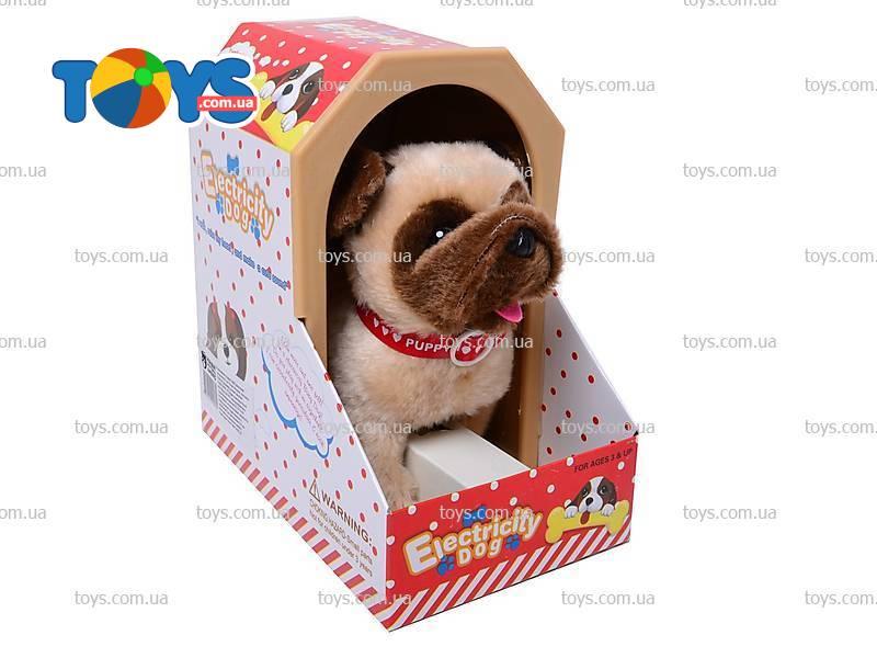 Собака игрушечная с будкой - Интерактивные животные в ...