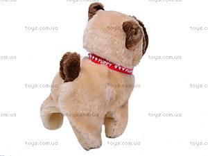 Собака игрушечная, с поводком, 9118E1, купить