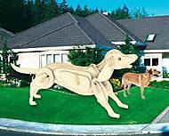 Конструктор деревянный «Собака», М011, фото