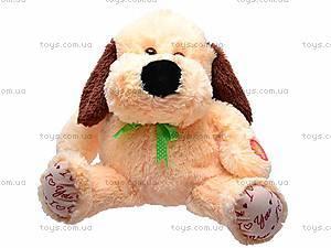 Собака плюшевая «Барбос», 7825/38, фото