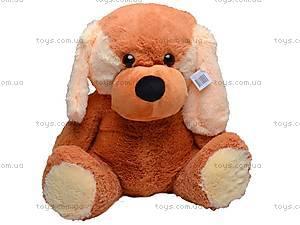 Собака плюшевая, большая, 1112/60, фото