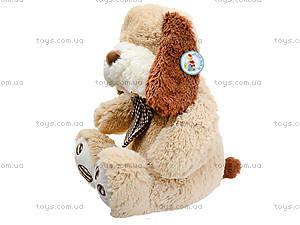 Мягкая собачка  с бантиком для малыша, S-JY-345940SK, купить