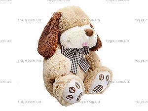 Мягкая собачка  с бантиком для малыша, S-JY-345940SK, отзывы