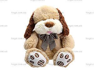 Мягкая собачка  с бантиком для малыша, S-JY-345940SK, цена