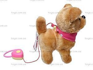 Собака с поводком игрушечная, 9105D1, цена