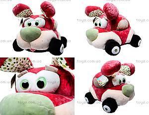 Плюшевая машина-игрушка «Софт-мобиль», К345А