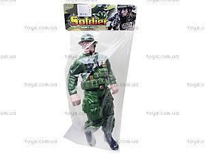 Кукла для мальчика «Солдат», HN646A, цена
