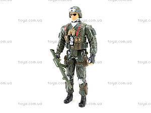 Детская игровая фигурка «Солдат», 66132, отзывы
