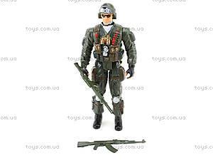 Детская игровая фигурка «Солдат», 66132, игрушки