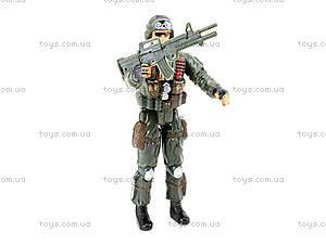Детская игровая фигурка «Солдат», 66132, детские игрушки