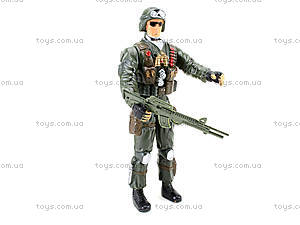 Детская игровая фигурка «Солдат», 66132, магазин игрушек