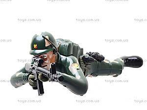 Интерактивный солдат, HD911-02, фото