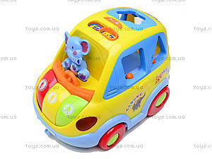 Сортер «Автошка», 9198, детские игрушки