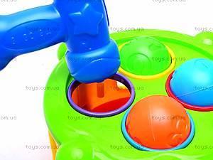 Сортер-барабан с молотком, MS0073, игрушки