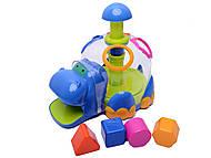 Сортер «Бегемотик», 9176, детские игрушки