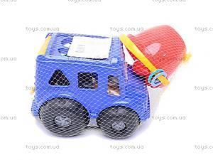 Сортер «Бусик», с песочным набором, 0268cp0020103062, игрушки