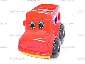 Сортер «Машинка», 0244cp0020101062, игрушки