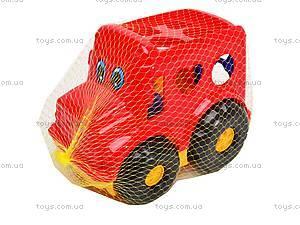 Сортер «Машинка», 0244cp0020101062, детские игрушки