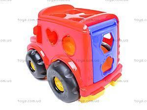 Сортер «Машинка», 0244cp0020101062, магазин игрушек