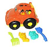 Сортер - машина «Автошка №2» (оранжевая), 0299