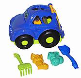 Сортер - машина Автошка №2 (синяя), 0299