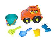Сортер - машина «Автошка №3» (оранжевая), 0305, фото