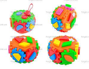 Детский куб-сортер «Геометрические фигуры», 50-105
