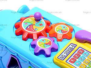 Сортер «Слон», 20238-6, игрушки
