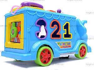 Сортер «Слон», 20238-6, детские игрушки