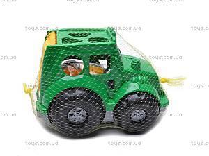 Сортер - трактор, 0329cp0010701062, игрушки