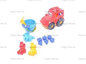 Сортер-трактор «Кузнечик», с песочным набором, 0343cp0020303062