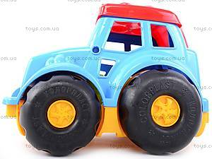 Сортер-трактор «Кузнечик» №2, cp0020302062, игрушки