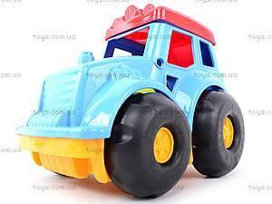 Сортер-трактор «Кузнечик» №2, cp0020302062, toys.com.ua