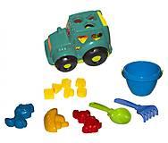 Сортер - трактор «Кузнечик №3» (бирюзовый), 0343, купить