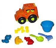 Сортер - трактор «Кузнечик №3» (оранжевый), 0343, фото