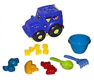 Сортер - трактор «Кузнечик №3» (синий), 0343, отзывы