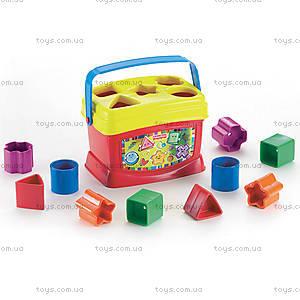 Сортер «Ведерко с кубиками», K7167