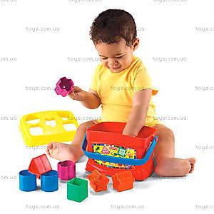 Сортер «Ведерко с кубиками», K7167, купить