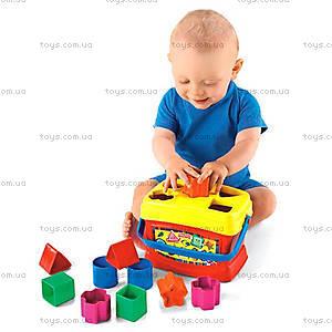 Сортер «Ведерко с кубиками», K7167, фото