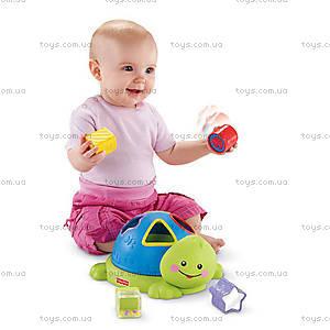 Детский сортер Fisher-Price «Веселая черепашка», N1072, купить