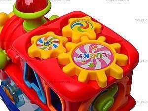 Сортер «Весёлое путешествие», 0803B, игрушки