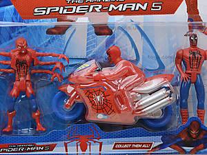 Фигурка Человек-Паук с мотоциклом на планшете, 835212, купить