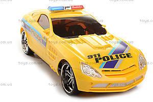 Спорткар «Полицейская машина», р/у, UD2071P/...