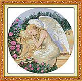 Спящий ангел, набор для вышивки крестиком, R287
