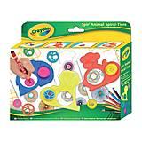 Набор для творчества с карандашами и трафаретами «Спирали», 5452, toys.com.ua