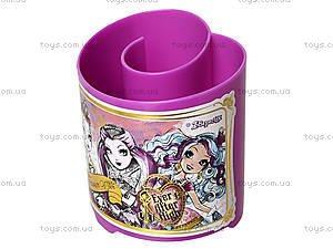 Стакан канцелярский «Долго и счастливо», фиолетовый, 470347, купить